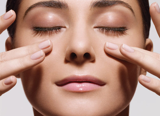 lifting facial com conchas
